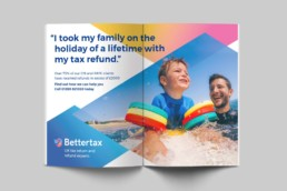 Bettertax Tax Agent brand design by Sophie Light – Brochure design